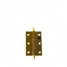 Петля дверная 50 *30 (золото) универсальная