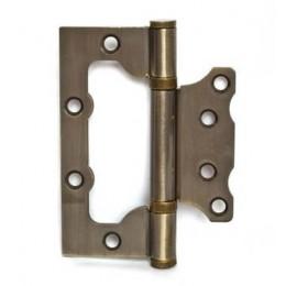 Дверная петля без врезки PLP 100мм (бронза)