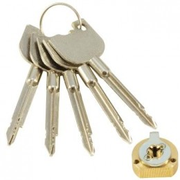 Личинка замка 5K Крестовой ключ