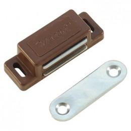 Магнит мебельный (малый) коричневый
