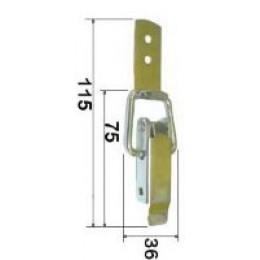 Защелка чемоданная (средняя)
