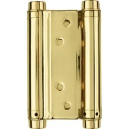Петля метро, реверсивная, барная, распашная, маятниковая 100мм золото
