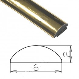 Профиль под золото гибкий SAL/MO1-S (200 п.м.)