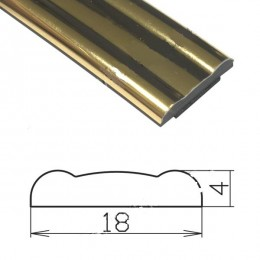 Профиль под золото гибкий SAL/MO9-S (50 п.м.)