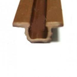 Профиль напр.врезной коричневый 2,5м