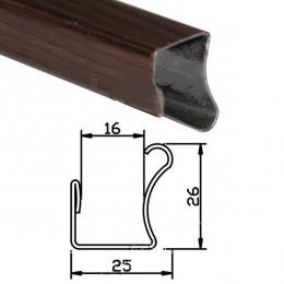 Вертикальная ручка 16мм венге 2,75м