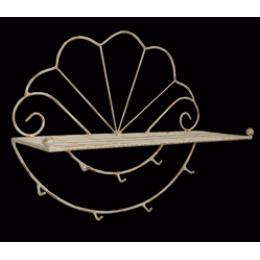 Вешалка кованная (ракушка)