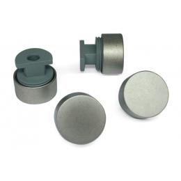 Зеркалодержатель D17,мат/никель