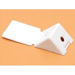 Уголок монтажный белый (1) пластик
