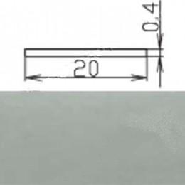 Кромка меламиновая МКР-19 (с клеем), серая