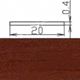 Кромка меламиновая МКР-19 (с клеем),вишня темная