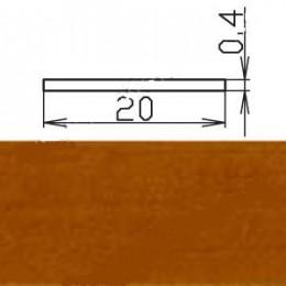 Кромка меламиновая МКР-19 (с клеем), ольха светлая
