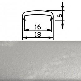 Профиль С16мм гибкий, металлик