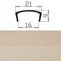 Профиль С16мм гибкий, клен (Рион)