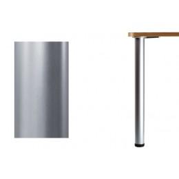 Нога d.60 Н710 для стола, хром матовый.
