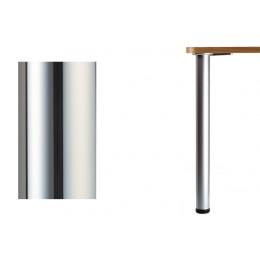 Нога d.60 Н1100 для стола, хром глянец