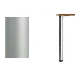 Нога d.60 Н1100 для стола, хром матовый