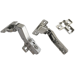 Петля мебельная АGV 45* clip-on HS с доводчиком
