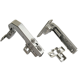 Петля мебельная АGV 90* clip-on HS с доводчиком