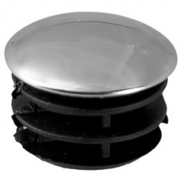 Заглушка д.10 мм хром