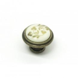 Ручка-кнопка с фарфором