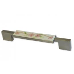 Мебельная ручка с фарфором(UP-01-251)