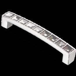 Мебельная ручка CRL02-96 Crystal