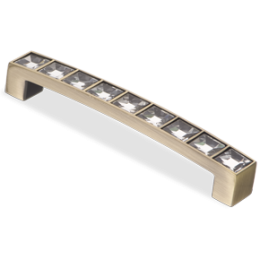 Мебельная ручка CRL02-96 BA Crystal